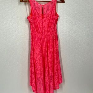 Candie's Dresses - Candie's High Low Lace Tank Stretch Dress